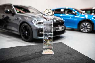 BMW 3 Series wins title Car of the Year 2020 in the Czech Republic. (01/2020)