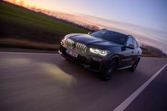 BMW X6 M50i. Czech on location pictures (01/2020)
