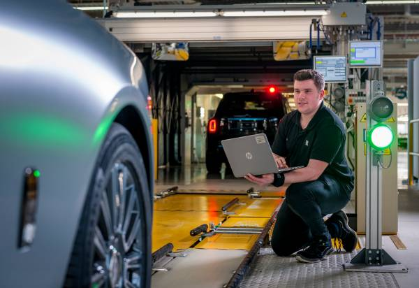 BRADLEY 'BRAD' SMITH, ROLLS-ROYCE MOTOR CARS APPRENTICE, ASSEMBLY PLANNER