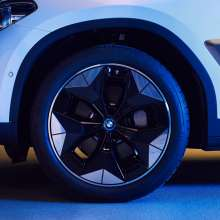 "Novel ""Aerodynamik Wheel"" (Prototype) for the purely electric BMW iX3"