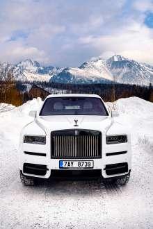 Rolls Royce in Vysoke Tatry (02/2020)