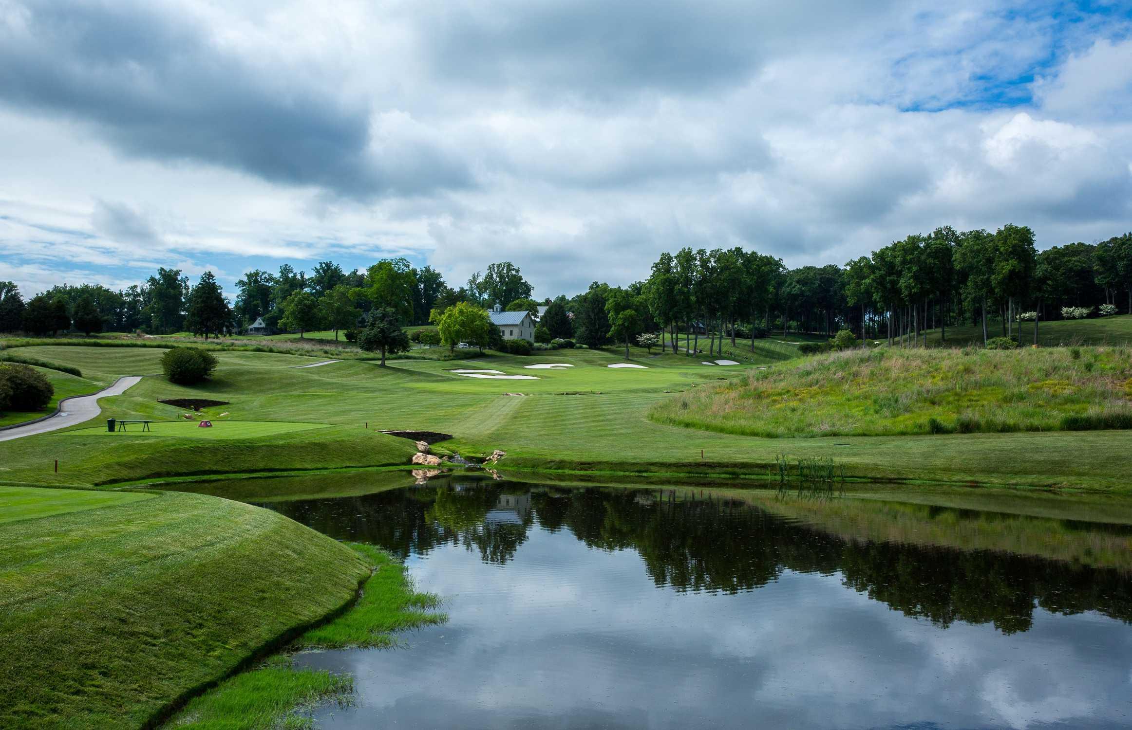 Neugestaltung und Konzept BMW Golf Championship 2021