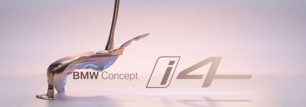 BMW Concept i4 -Teaser
