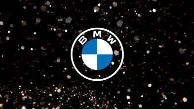 The new BMW communication logo. BMW new corporate identity for online and offline communication.  (03/2020)