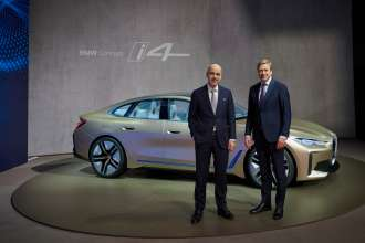 BMW Group Annual Accounts Press Conference at BMW Welt in Munich on 18th March 2020. Dr Nicolas Peter, Member of the Board of Management of BMW AG, Finance, and Oliver Zipse, Chairman of the Board of Management of BMW AG (03/2020).