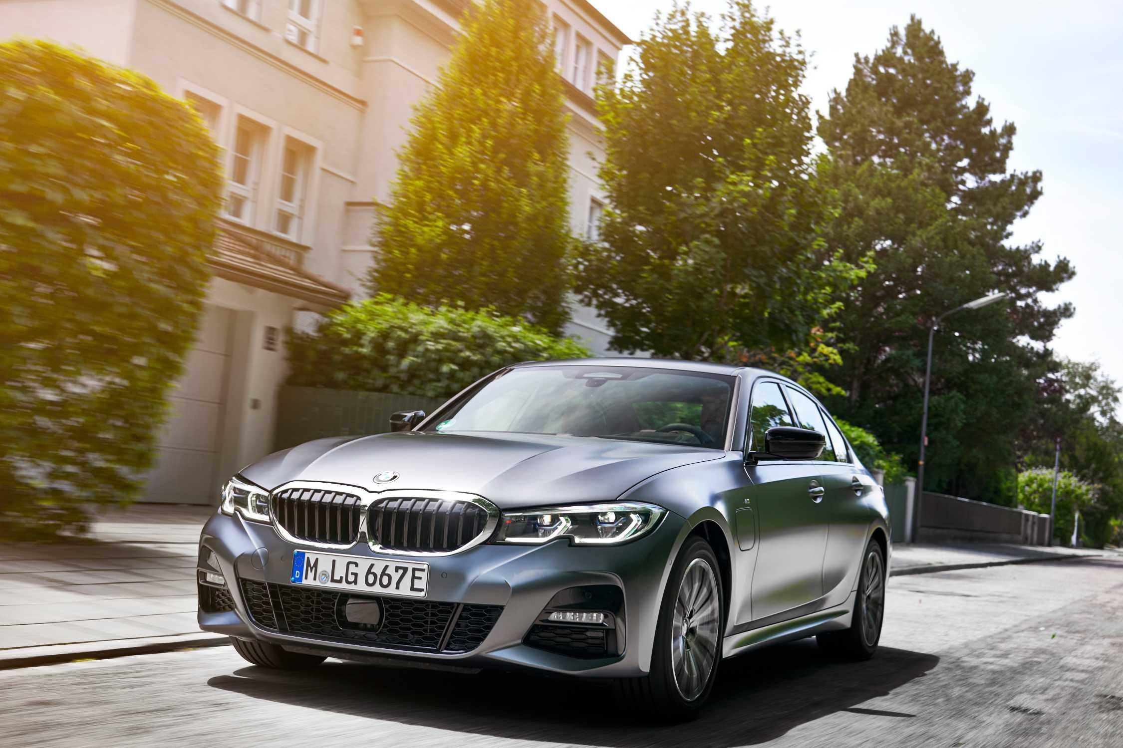 2020 BMW 3 Series Edrive Phev Interior