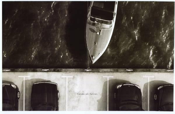 """Advertisment picture """"Freude am Fahren""""  (03/2020)"""