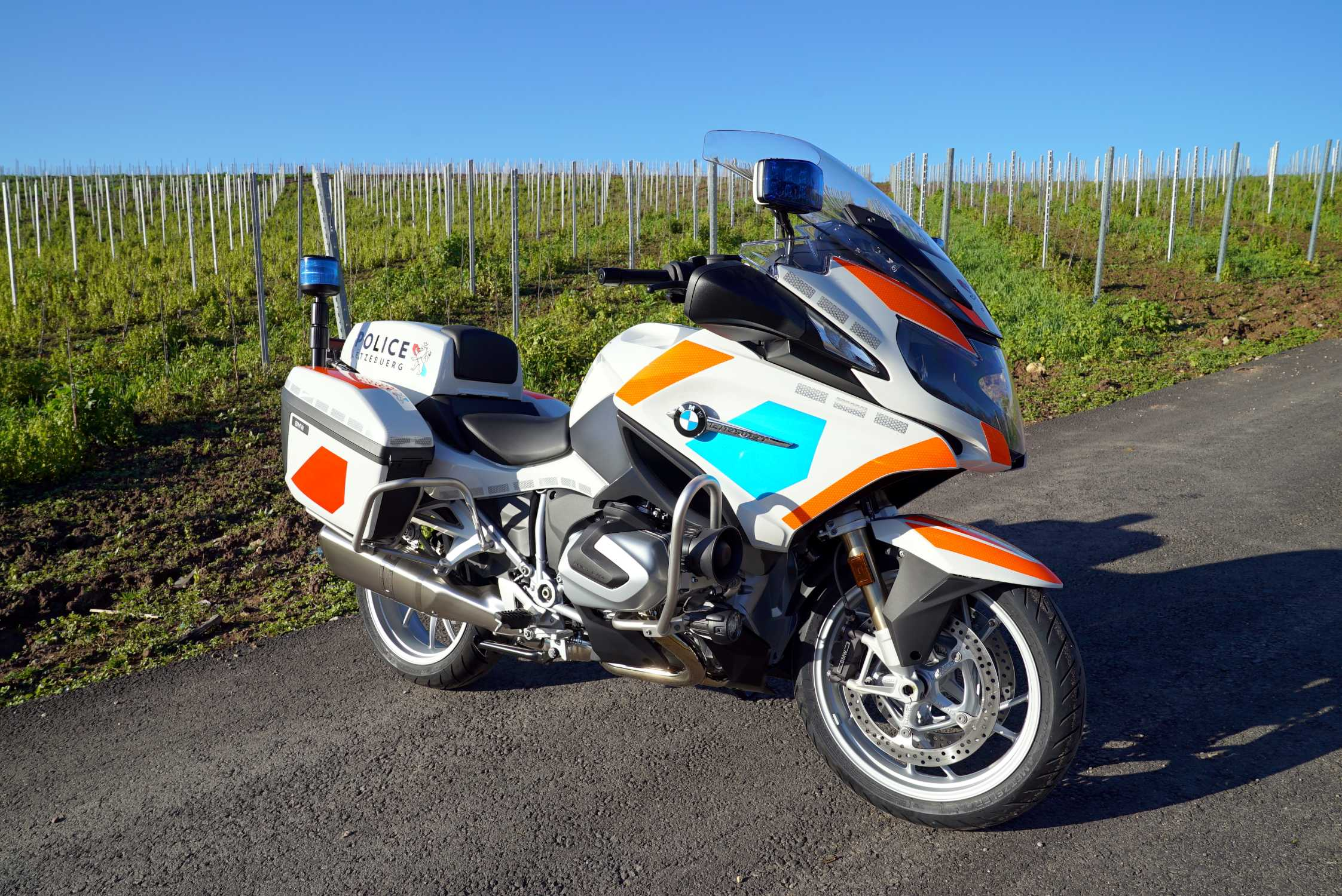 BMW delivery for the Grand Ducal Police  (04/2020)
