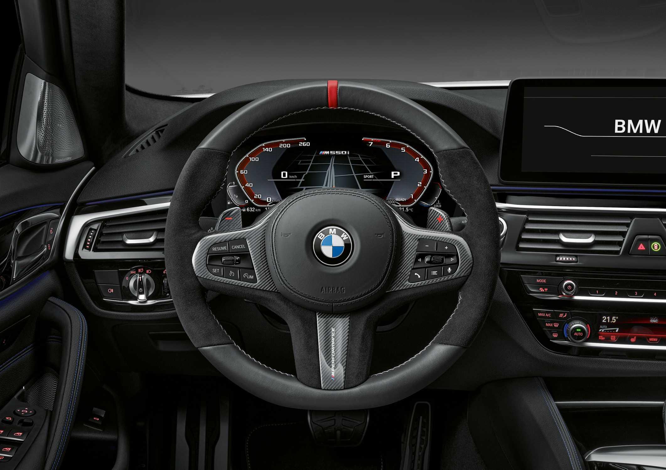 The new BMW 5 Series, M Performance Steering Wheel (05/2020)