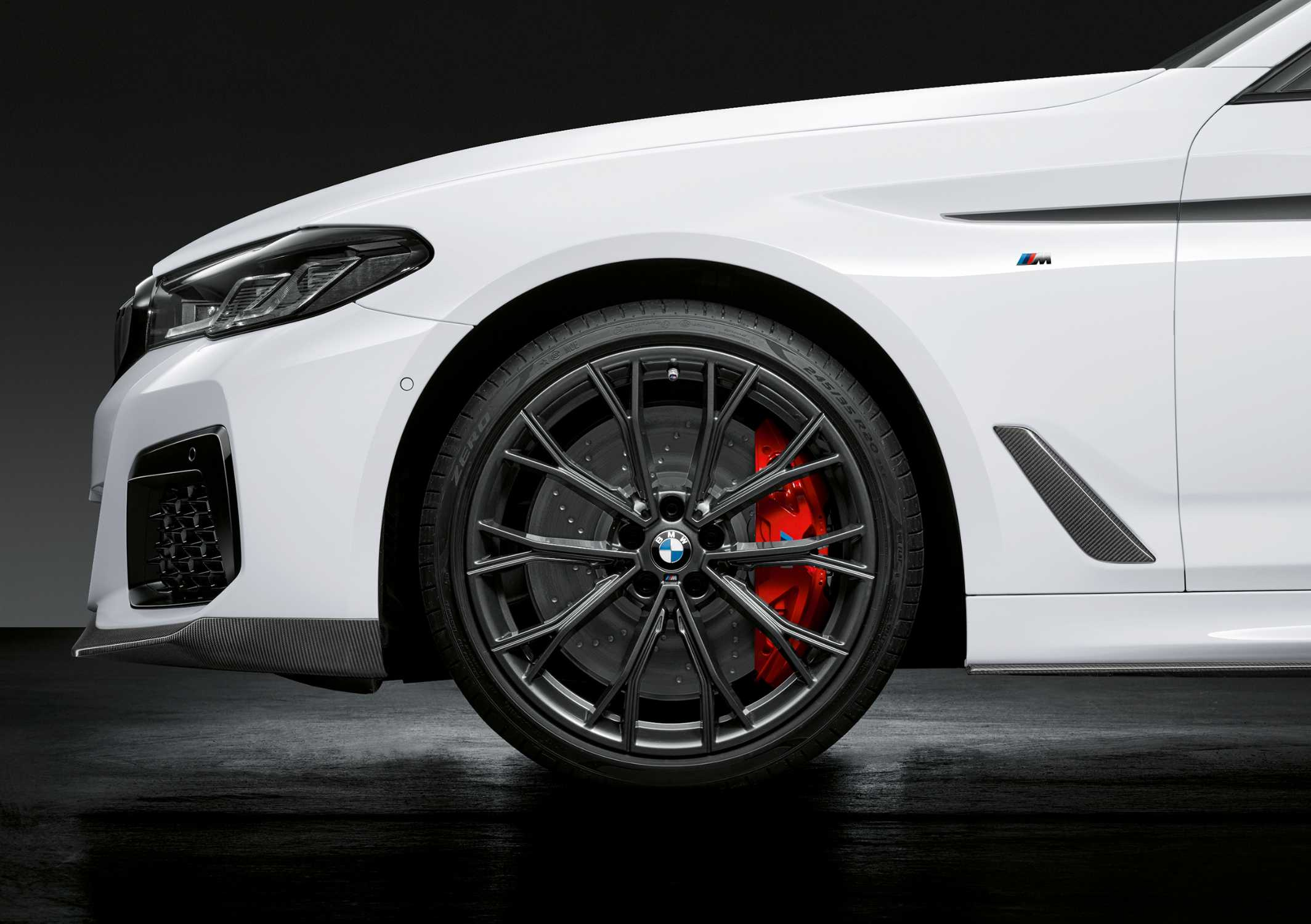 The new BMW 5 Series, 20-inch M Performance Forged Wheel Double-Spoke 669 M Orbit Grey (05/2020)