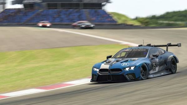 Bmw Sim 120 Cup Laurin Heinrich And Alexander Voß Win In The Bmw M8 Gte On The Nürburgring