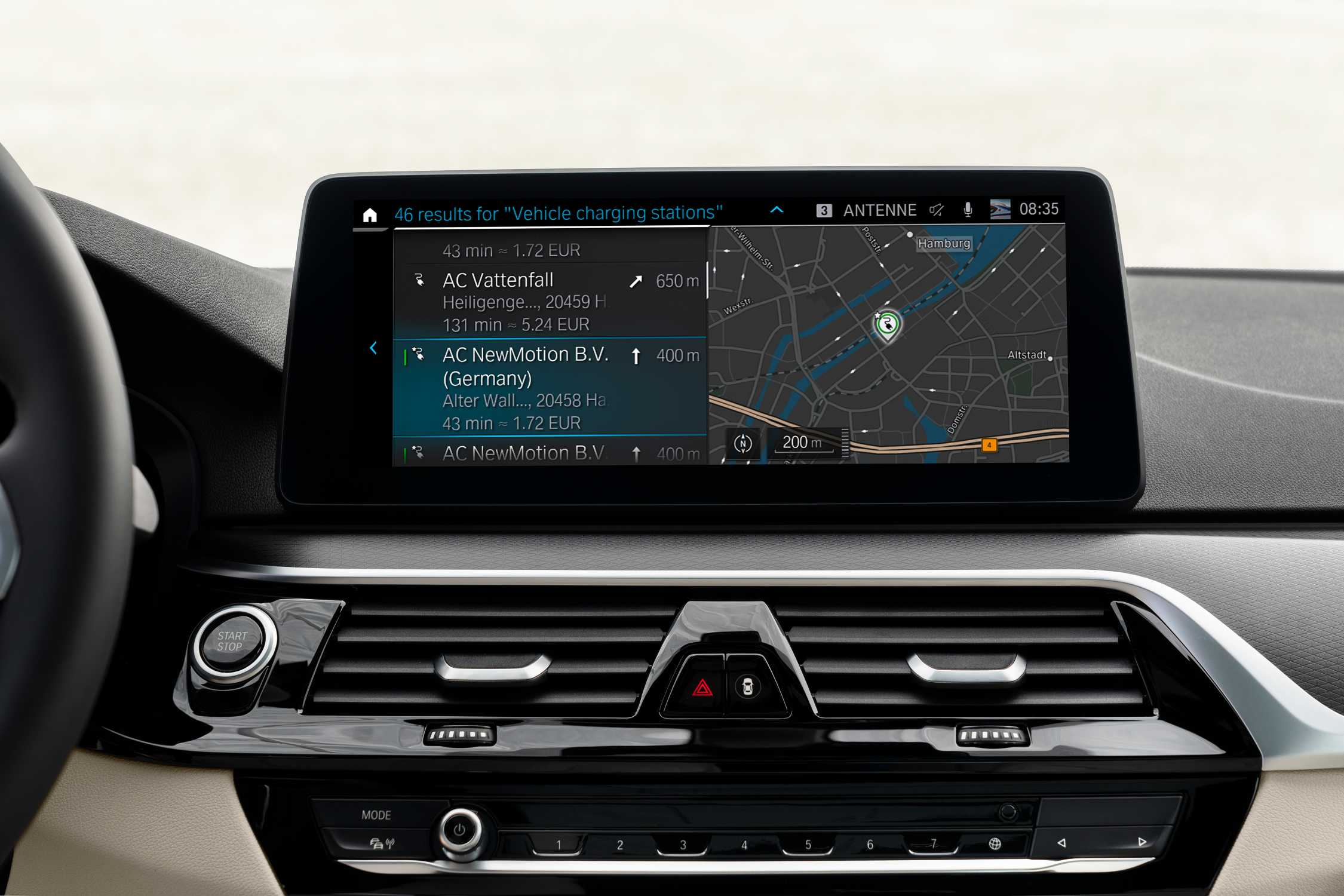 The new BMW 5 Series, Connected Charging (05/2020)