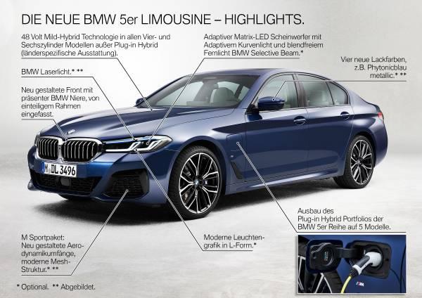Die neue BMW 5er Limousine - Highlights (05/2020)