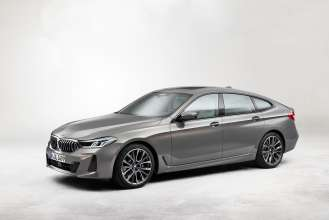 The new BMW 640i xDrive Gran Turismo, Bernina Grey Amber effect, M Sport package (05/2020).