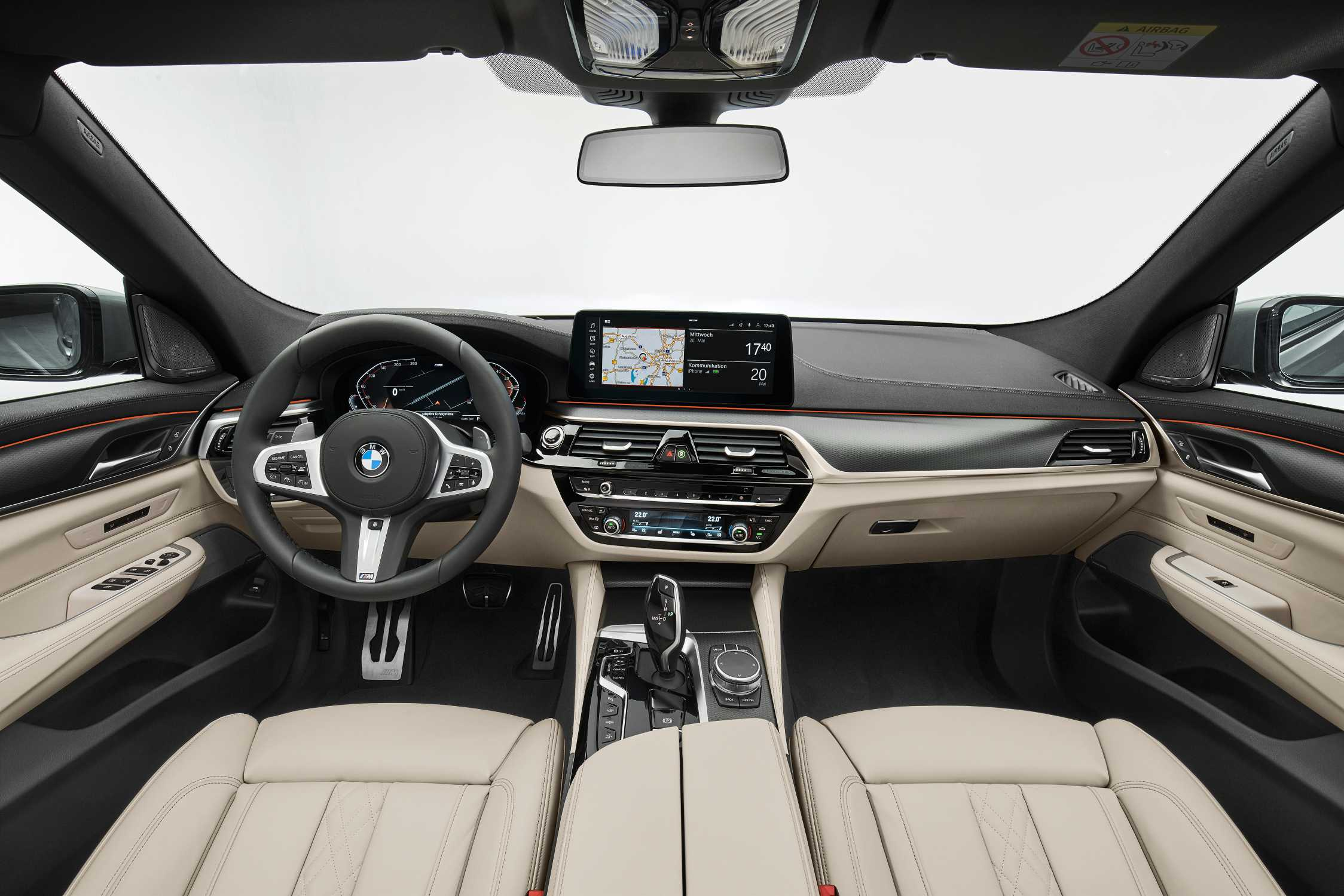 The new BMW 640i xDrive Gran Turismo, Bernina Grey Amber effect, M Sport package (05/2020).