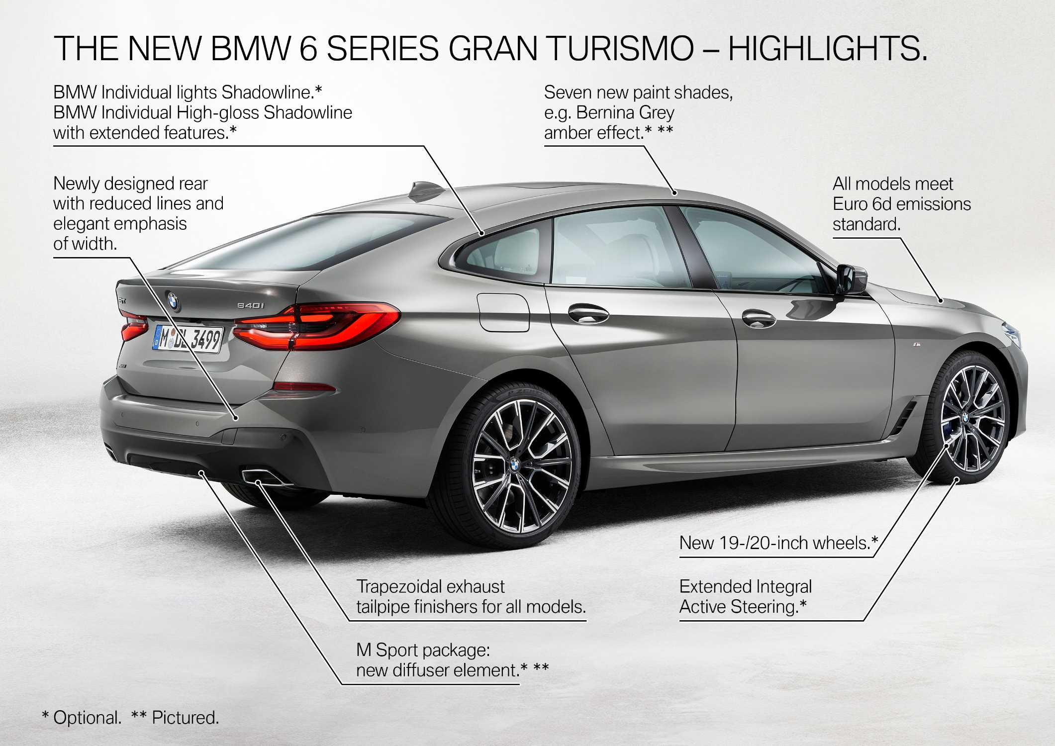 The new BMW 6 Series Gran Turismo - Highlights (05/2020).