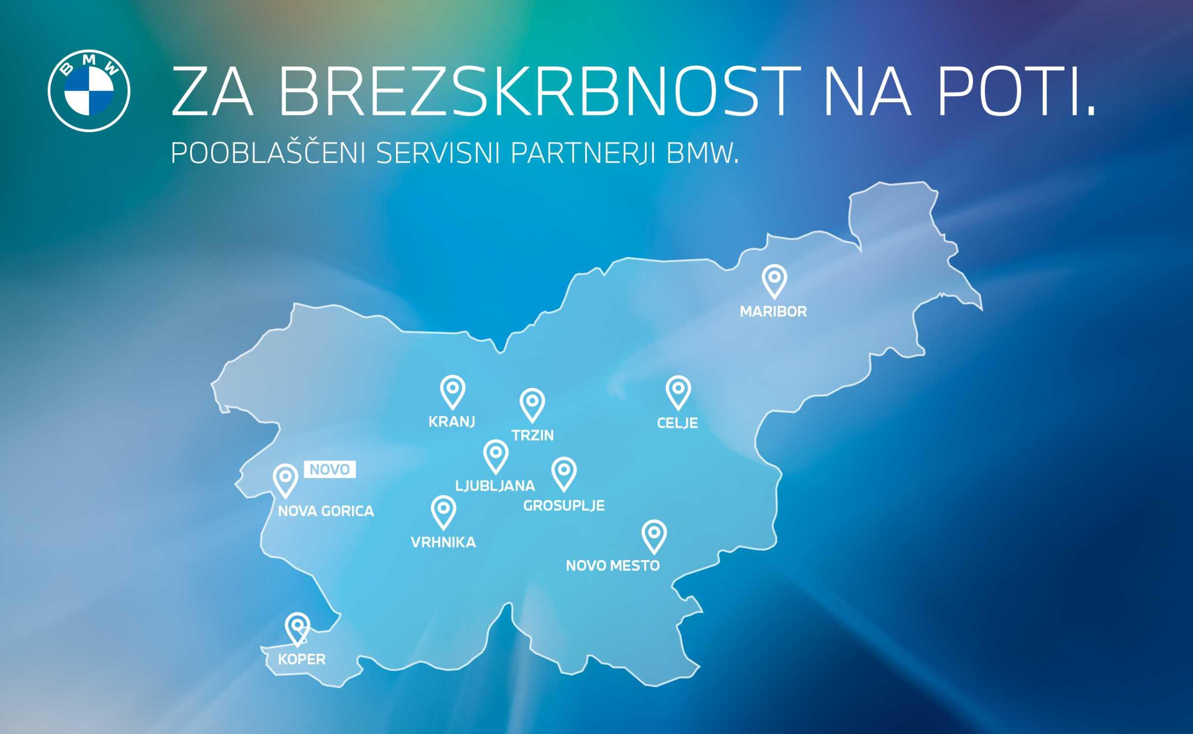 BMW Slovenia service network (05/2020)
