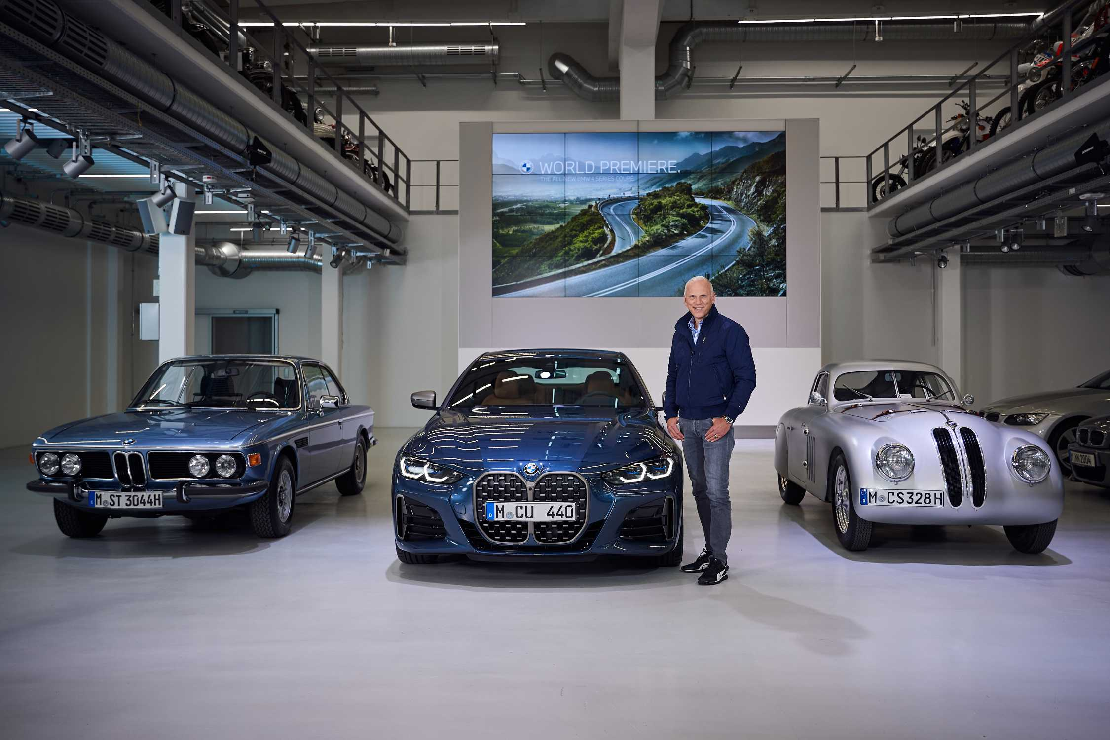 Digital World Premiere Of The All New 4 Series Coupé
