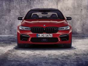 The new BMW M5 Competition (06/2020).