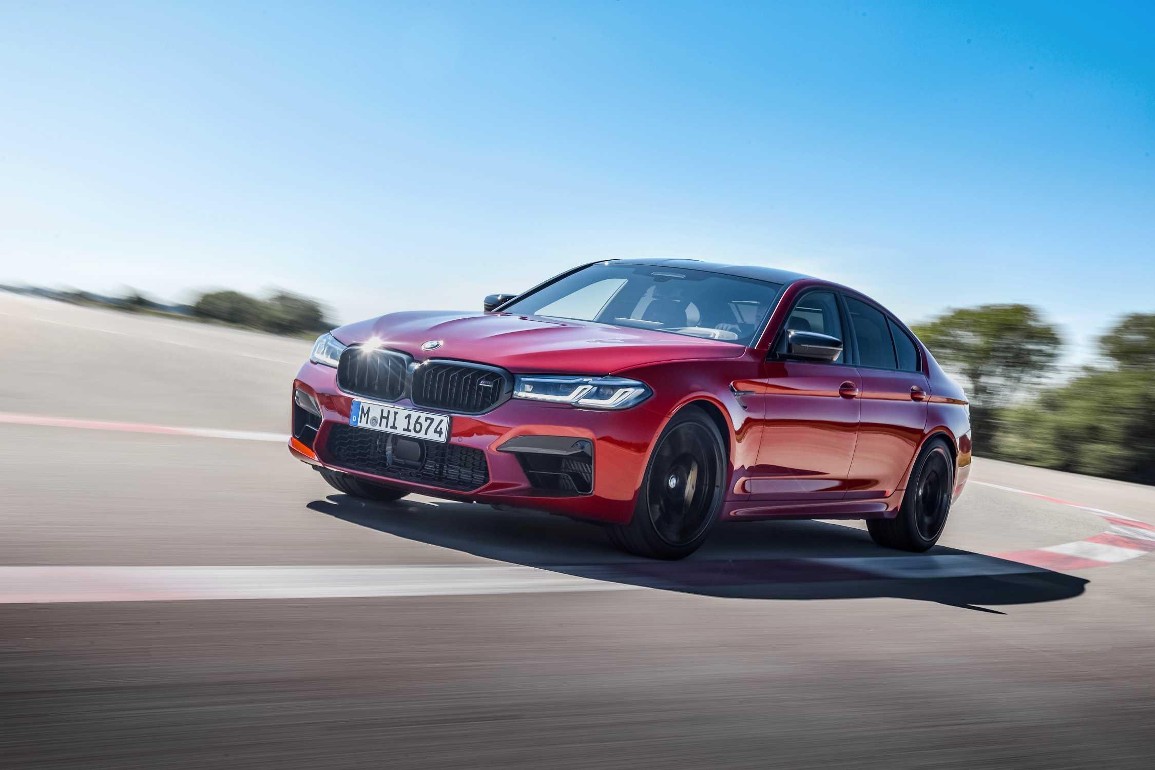 The New 5 BMW M5 Sedan