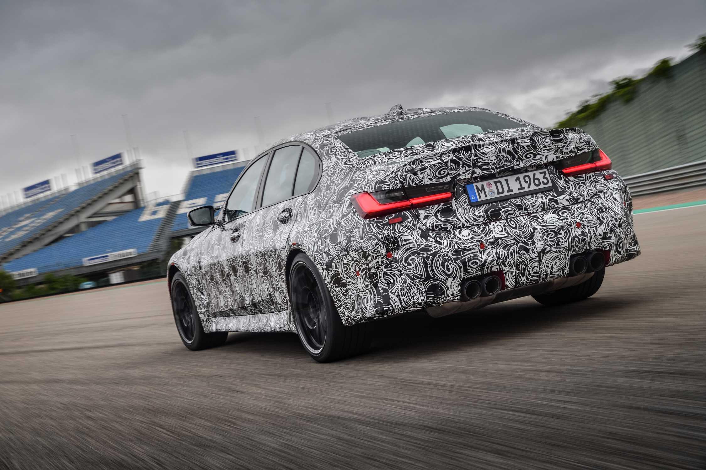 The new BMW M3 Sedan (07/2020).