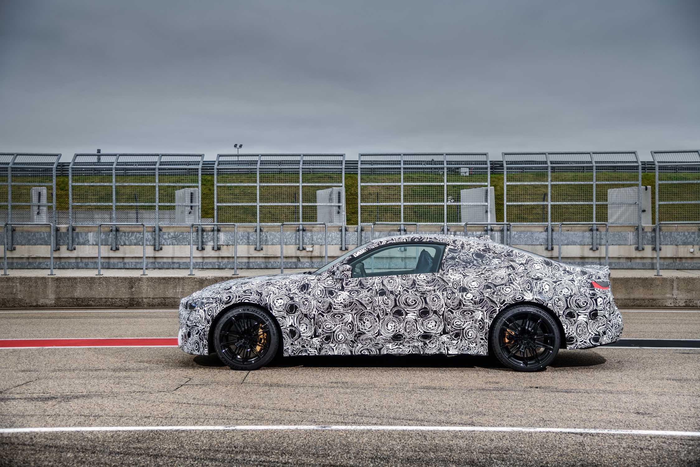 The new BMW M4 Coupé (07/2020).