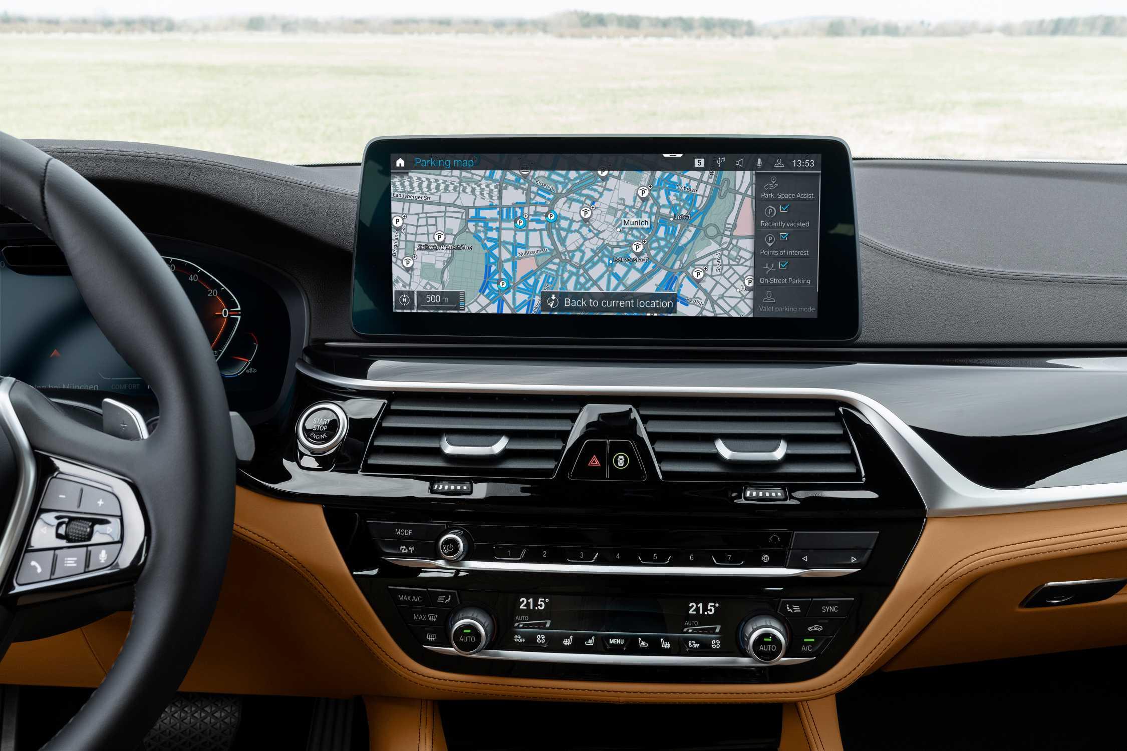 BMW Maps - On-Street-Parking-Information. (07/20)