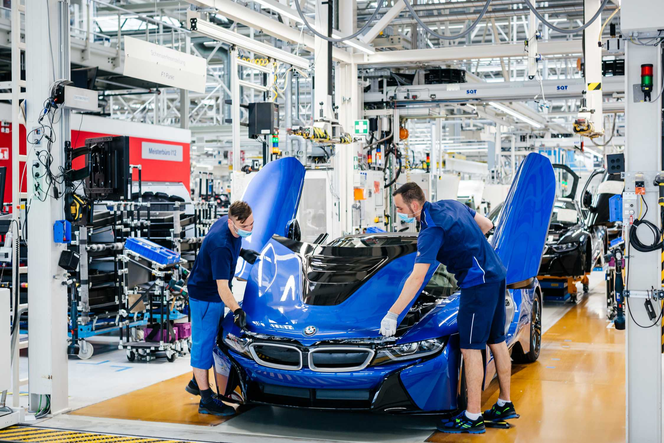 The last 18 BMW i8, End of Production, BMW Group Plant Leipzig (06/2020)