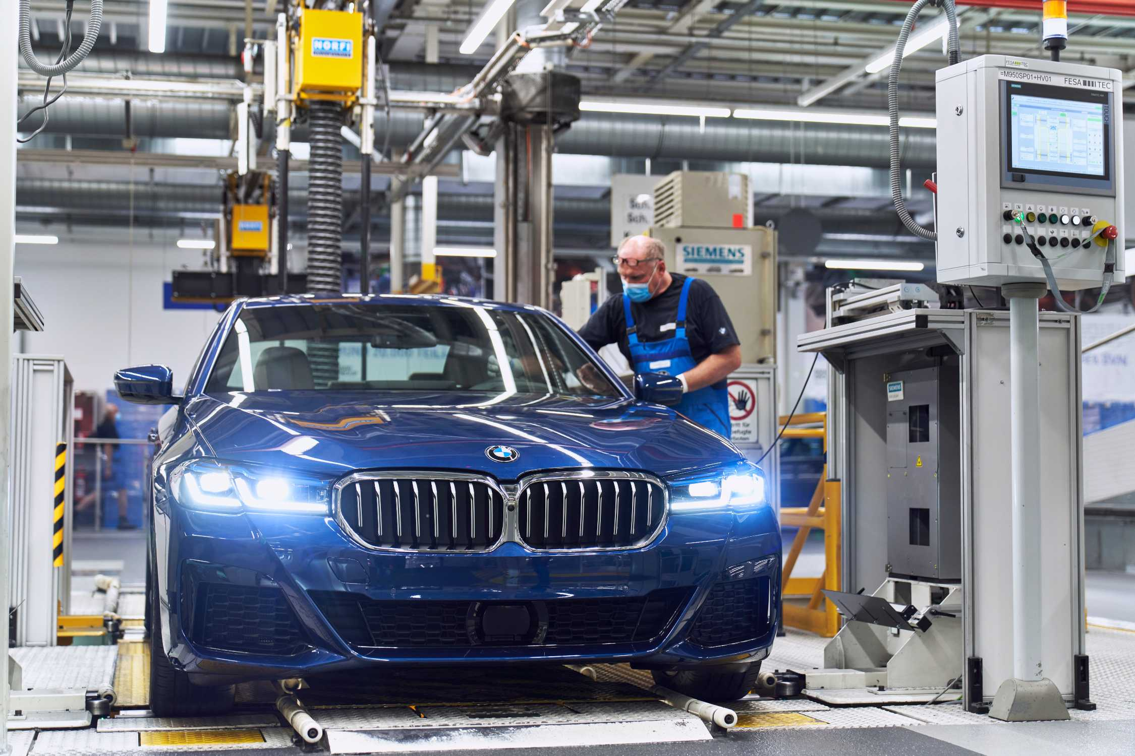 Start of production for the new BMW 5 Series Sedan at BMW Group Plant Dingolfing. (06/2020)