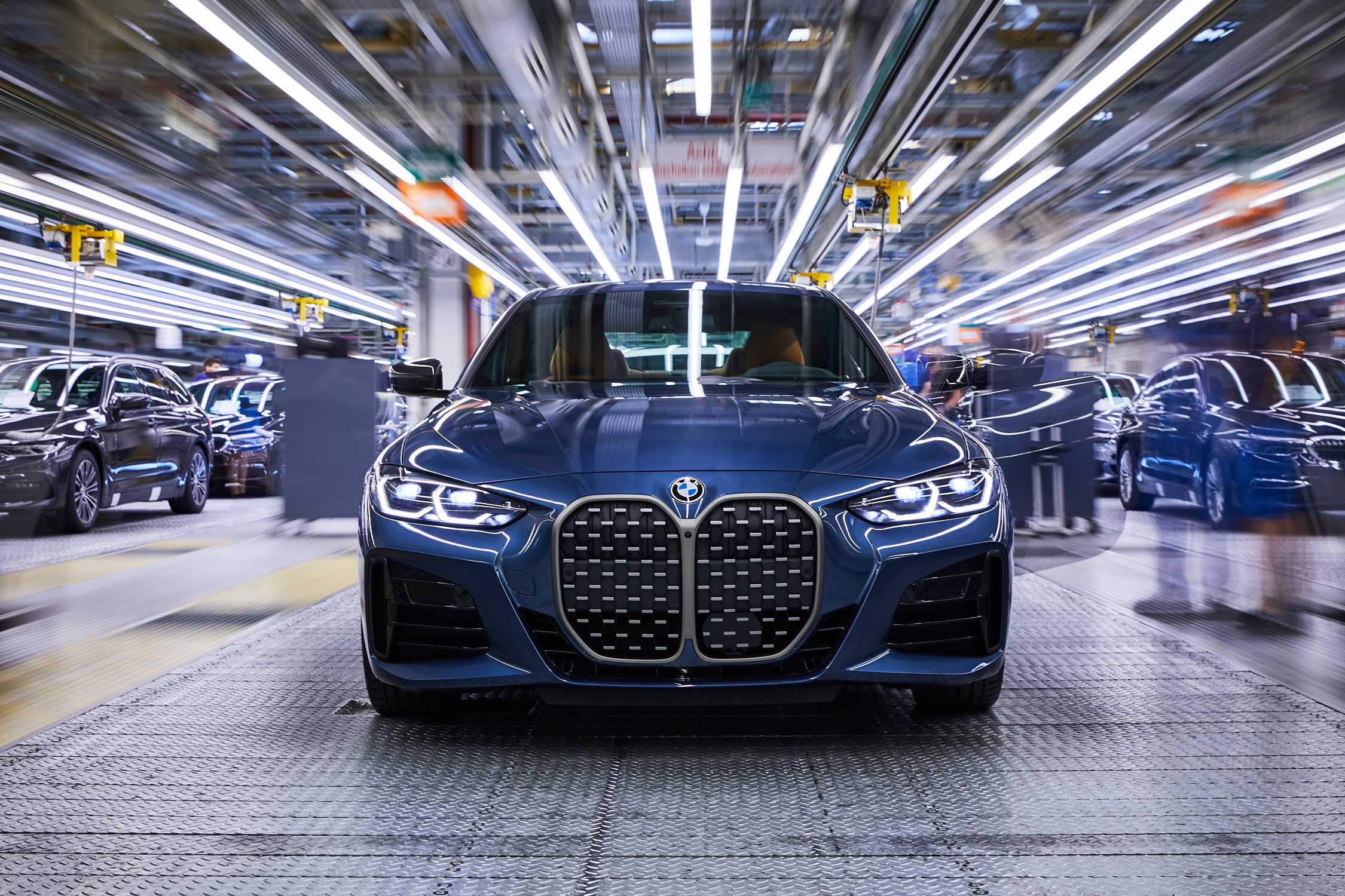 Start Of Production For New Bmw 4 Series Coupé At Bmw Group Plant Dingolfing