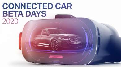 BMW Connected Car Beta Days. (07/20)