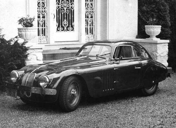 The BMW 328 Touring Coupe after partial rebuild by R. Grier (07/2020)