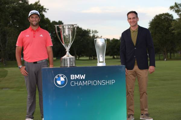Jon Rahm Wins The 2020 Bmw Championship At Olympia Fields Country Club In A Sudden Death Playoff
