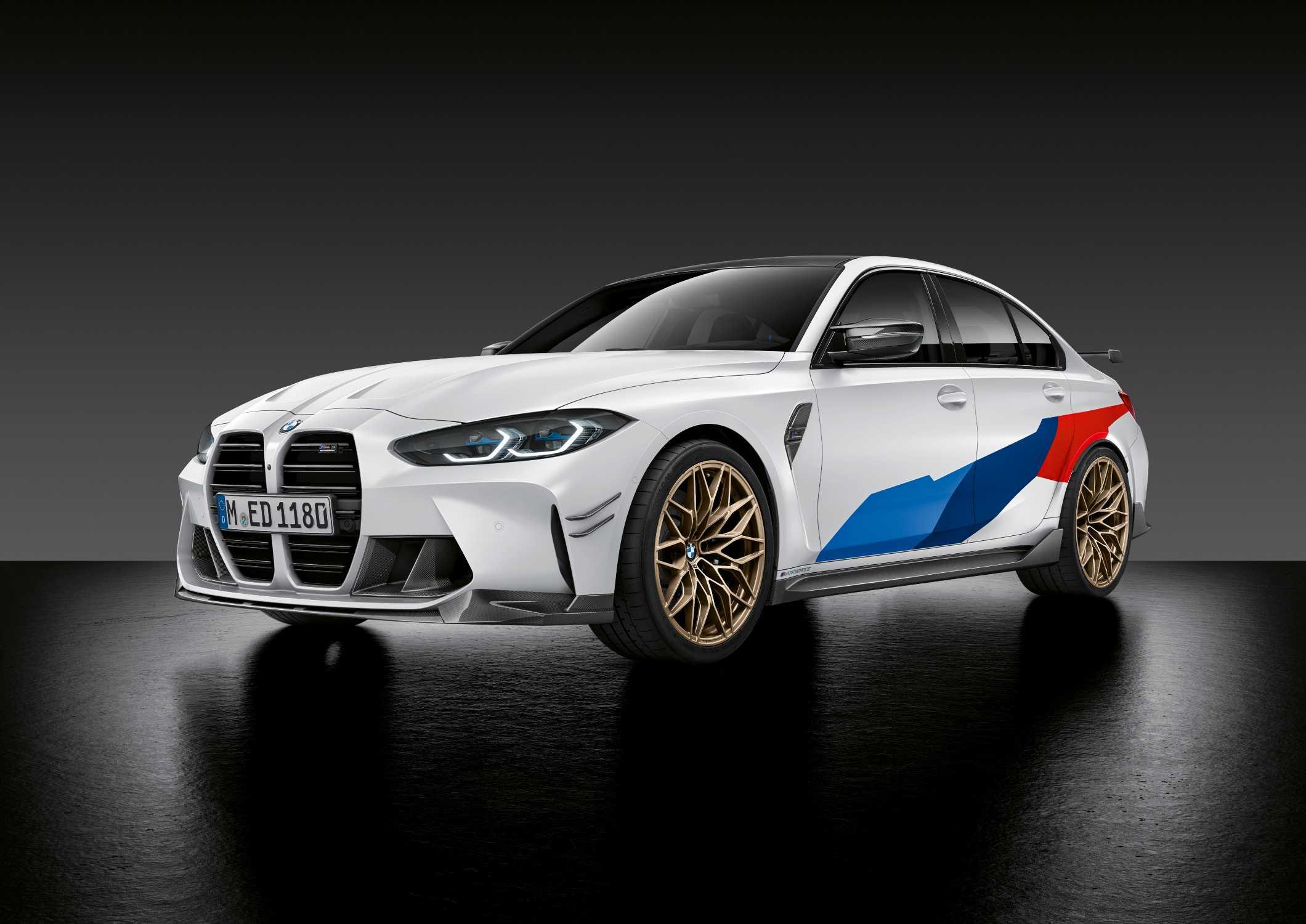 Breites Angebot An M Performance Parts Bereits Zum Marktstart Der Neuen Bmw M3 Limousine Und Des Neuen Bmw M4 Coupé