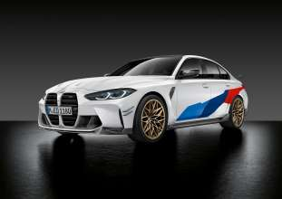 The new BMW M3 Competition Sedan, M Performance Parts (09/2020).