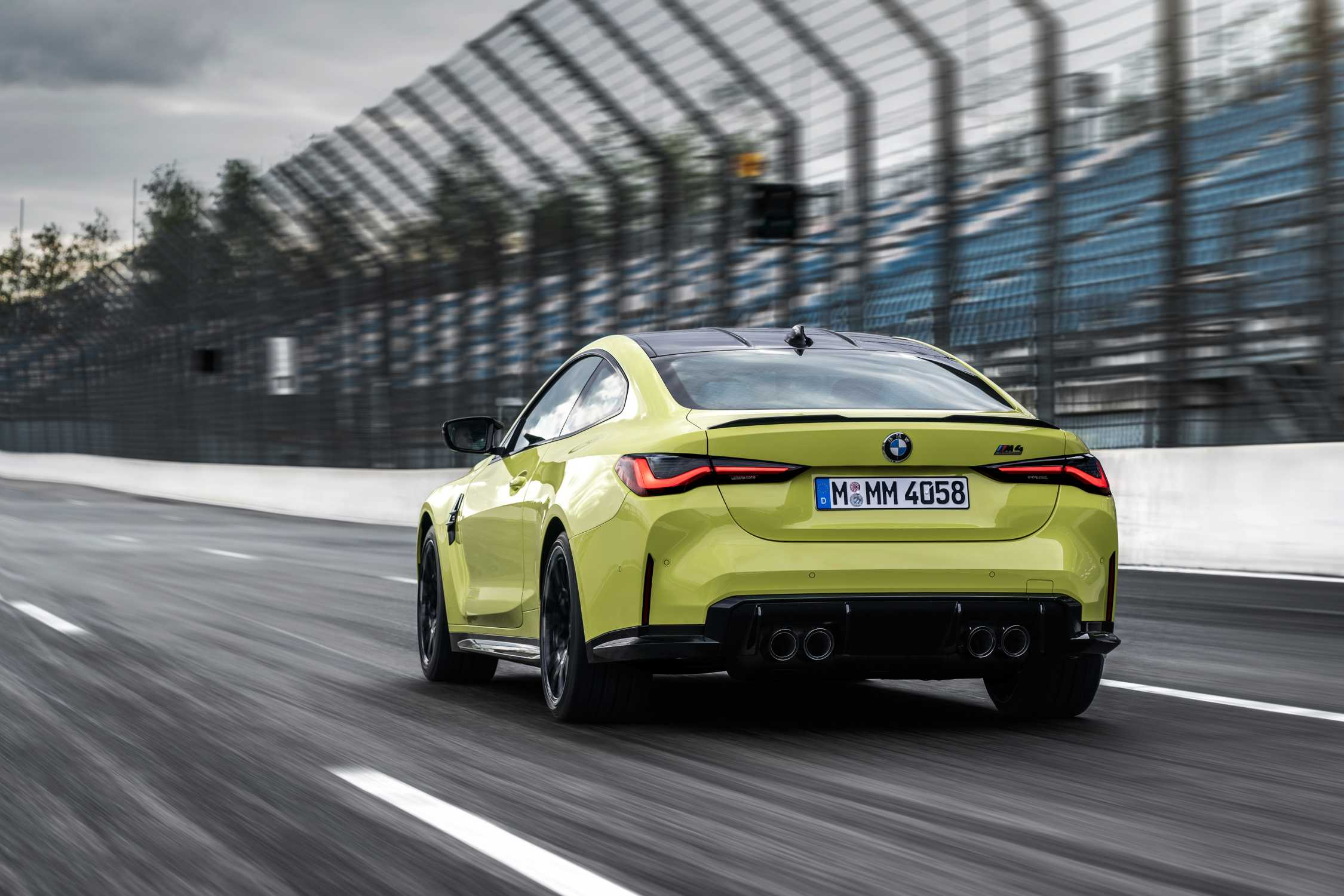 The new BMW M4 Competition Coupé (09/2020).