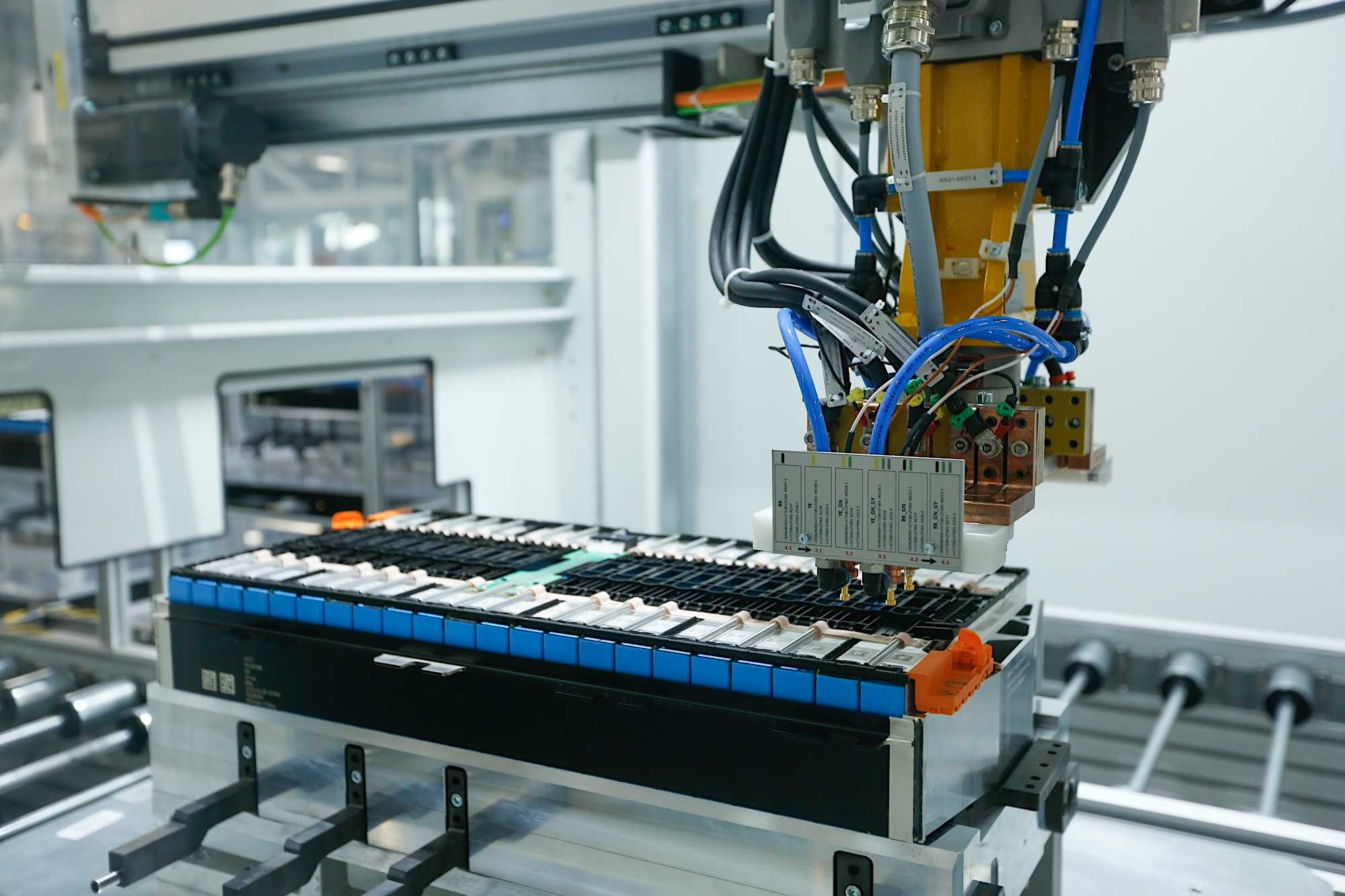 Production of battery modules (09/2020)