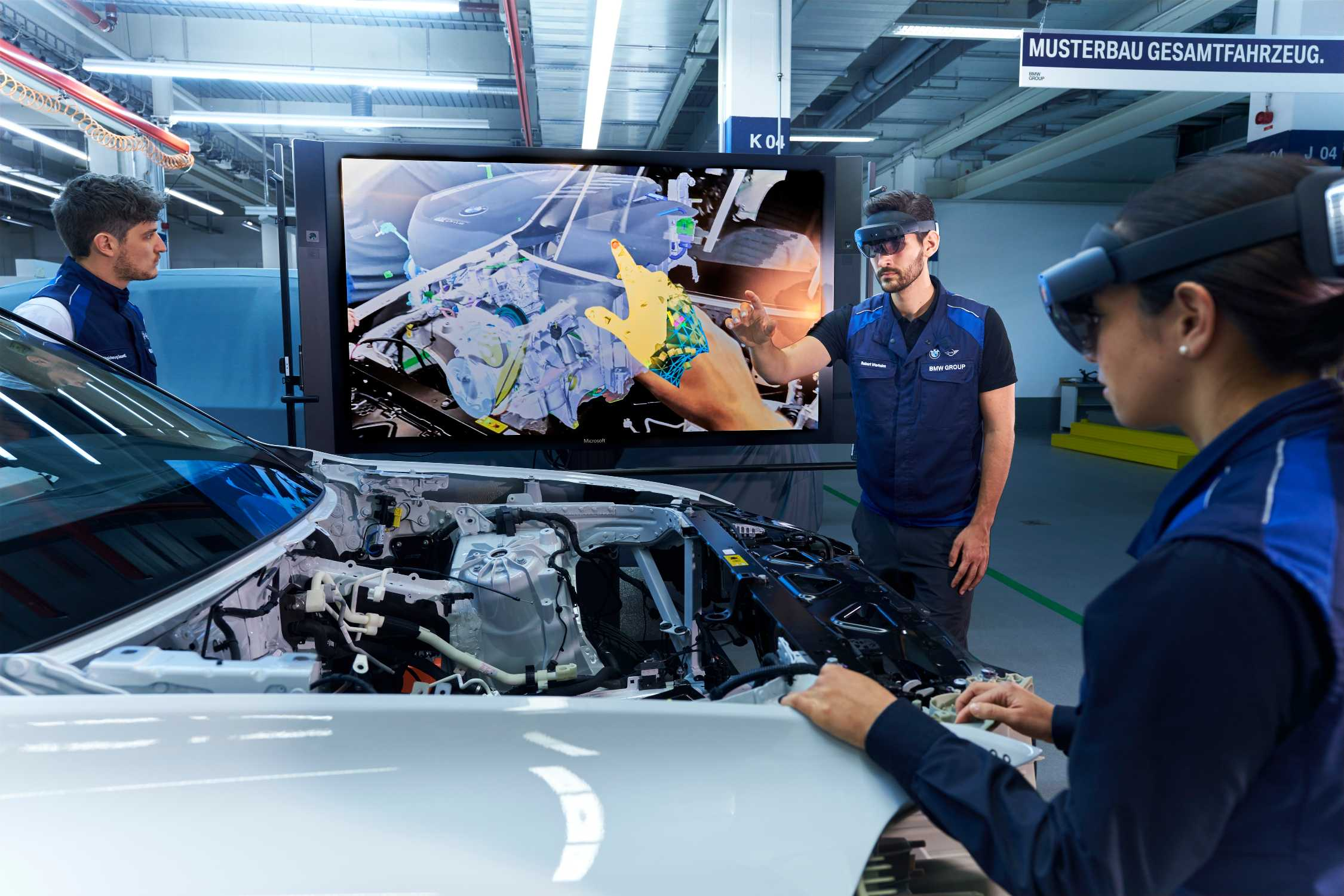 Munich Pilot Plant Bmw Group Uses Augmented Reality In Prototyping