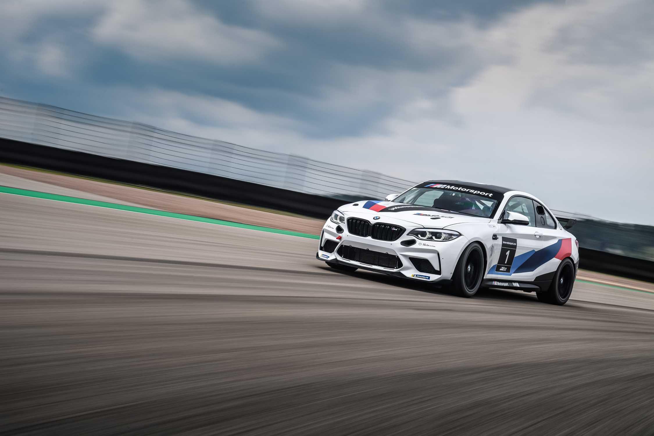 BMW M Motorsport geht 2021 mit dem BMW M2 Cup im ...