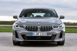 The new BMW 640i xDrive Gran Turismo, Bernina grey amber effect (10/2020).