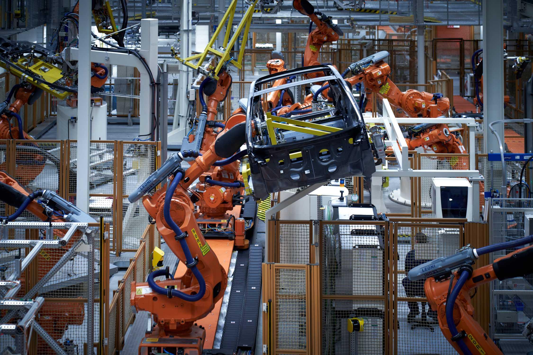 200.000 BMW i3, production at BMW Group plant Leipzig (10/2020)
