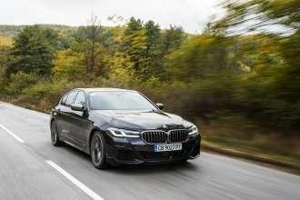 The new BMW 5 Series Sedan and BMW 6 Series Gran Tourismo, on location photos Bulgaria (10/2020)