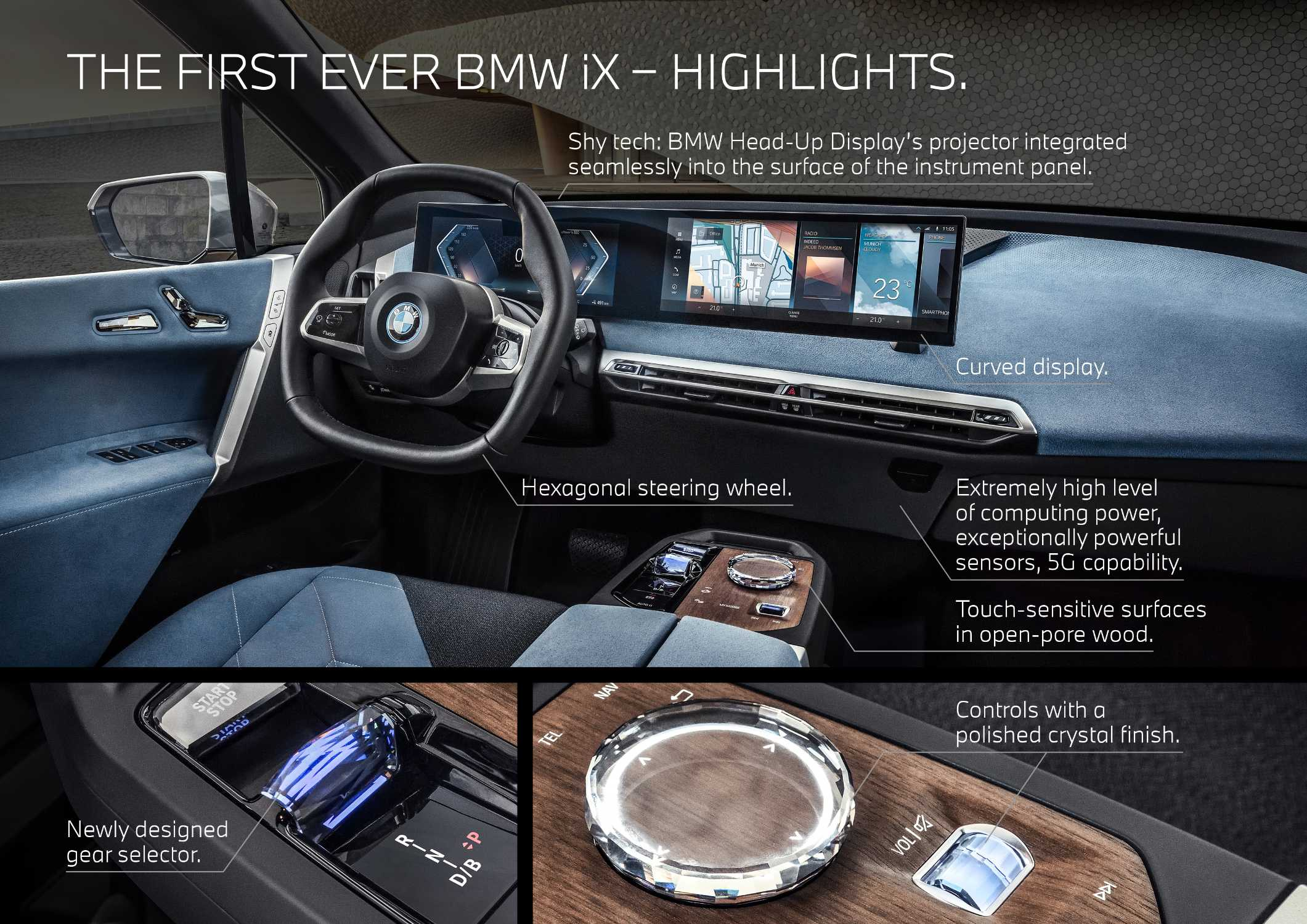 The first ever BMW iX (11/2020).