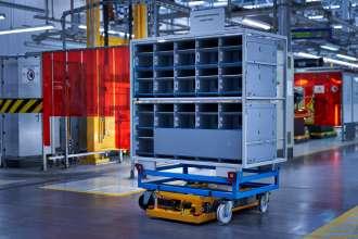 Smart Transport Robot BMW Group Logistics (11/2020)