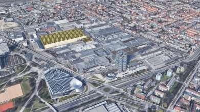 Animation new vehicle assembly BMW Group plant Munich (11/2020)
