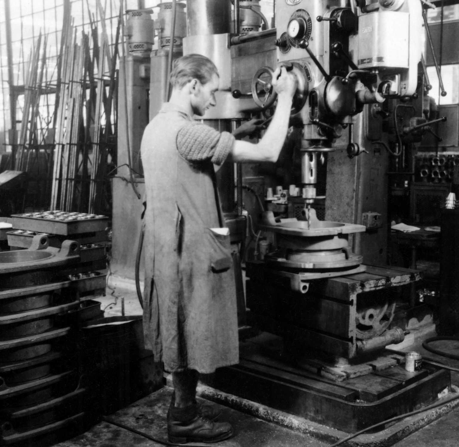 Production of the dough dividing machine (11/2020)