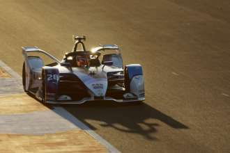 Valencia (ESP), 27th November - 1st December 2020. ABB FIA Formula E World Championship, Season 7, BMW i Andretti Motorsport, BMW iFE.21, Maximilian Günther (GER) No. 28, test.