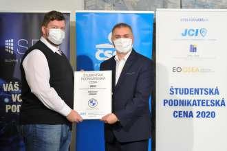 Junior Chamber International Award – Studentska podnikatelska cena 2020. (12/2020)
