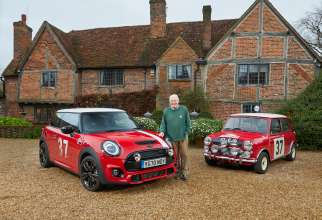 Paddy Hopkirk takes delivery of the new Paddy Hopkirk Edition