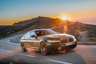 The new BMW M5 CS – Scenic (01/2021).